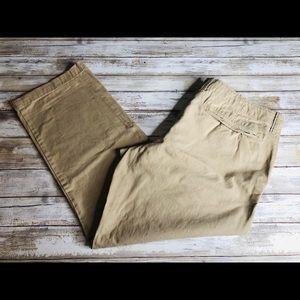 Old Navy Cream Broken-In Straight Khaki Pant 36x30